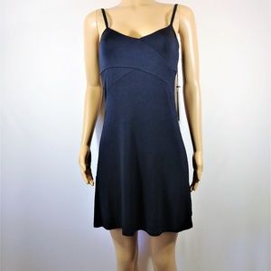 Tahari Navy Blue sexy Sleepwear Dress